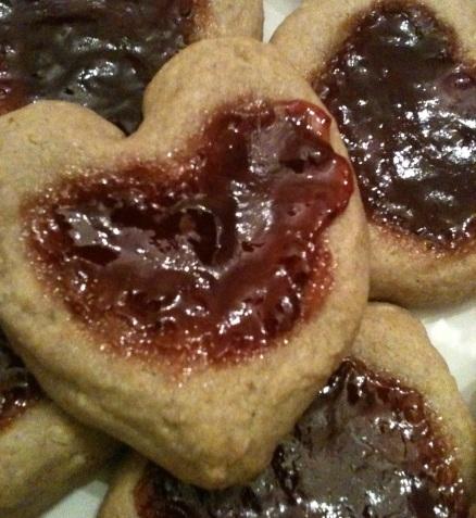 Vegan Valentine's Day Cookies